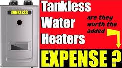 Tankless Vs Tank Water Heater Price