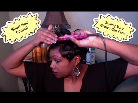 youtube short hair styling hair tutorial how to style your pixie grown 7328 | hqdefault