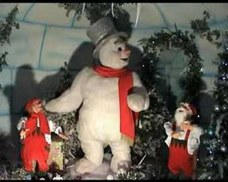 christmas animatronics frosty snowman christmas decoration from kd decoratives - Animatronic Christmas Decorations