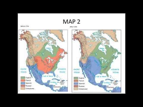 French and Indian War Maps Lecture