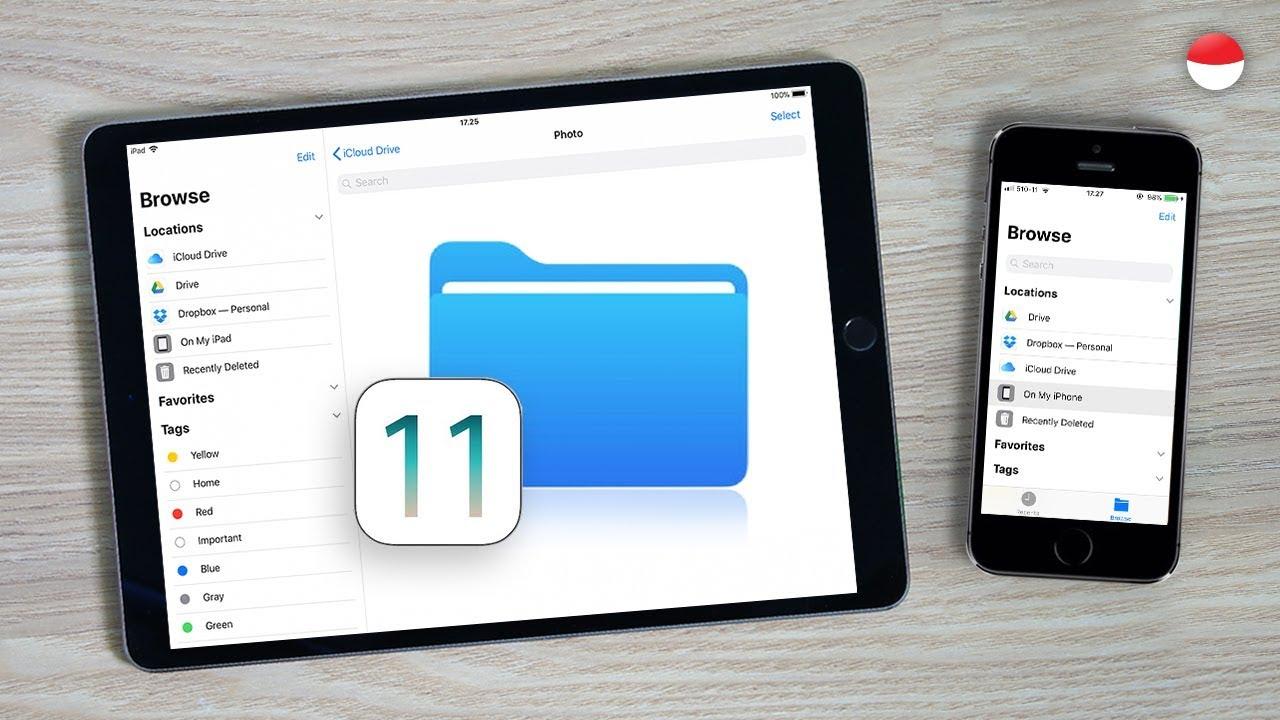 Cara akses local storage di Files app buat iPhone dan iPad