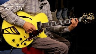 Baixar D'Angelico Deluxe Series LTD SS Semi-Hollow Electric Guitar w/ Custom Pickups & Stairstep Tailpiece