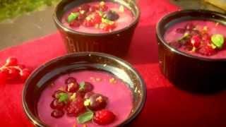 Méli mélo de fruits rouges au basilic & zest'itrons
