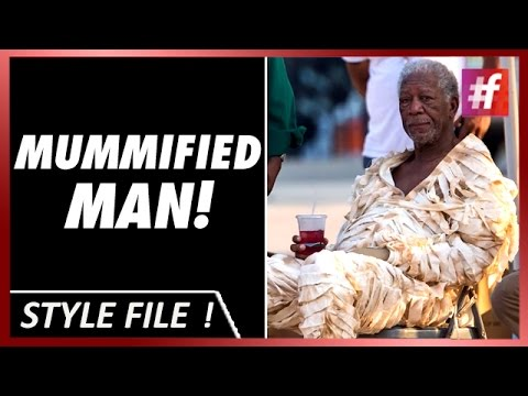 Morgan Freeman Becomes Mummy On The Set of 'Going in Style'