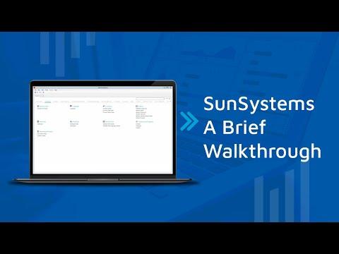 Sun Systems Software: a Brief Walkthrough - YouTube