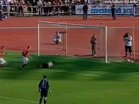 Шинник (Ярославль, Россия) - СПАРТАК 2:2, Чемпионат России - 2002