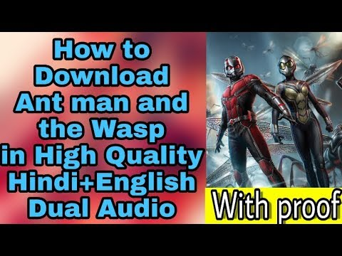 Download ant man and the wasp in Hindi ||...