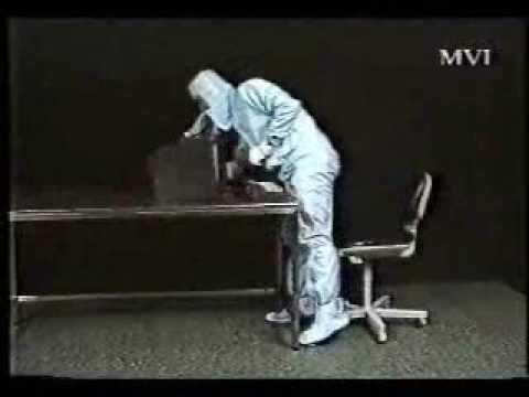 Behavior in Pharmaceutical clean room part 2