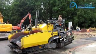 Fietspaden aanleg Overcingellaan door De Sallandse wegenbouw