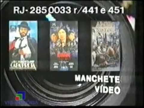 Comercial Manchete Vídeo (1990)