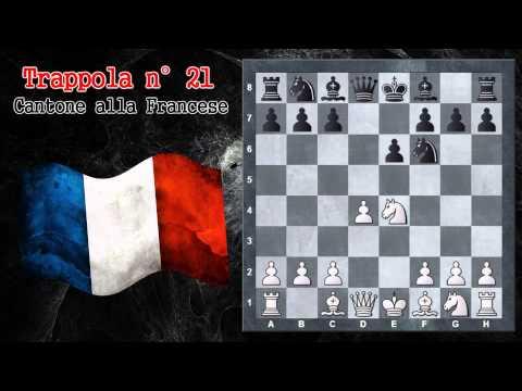 Trappole in apertura 21 scacchi cantone alla francese for Finestre apertura alla francese