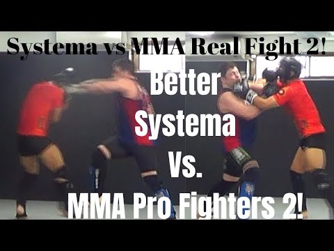 Better Systema vs UFC Karate vs MMA Harder Real Sparring vs Pro Fighters 2Fight Like Conor McGregor!