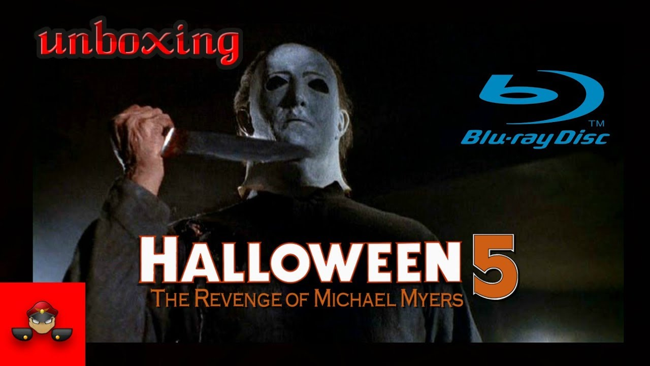 Halloween 5 Blu Ray.Unboxing Halloween 5 The Revenge Of Michael Myers Blu Ray Hd 1080p