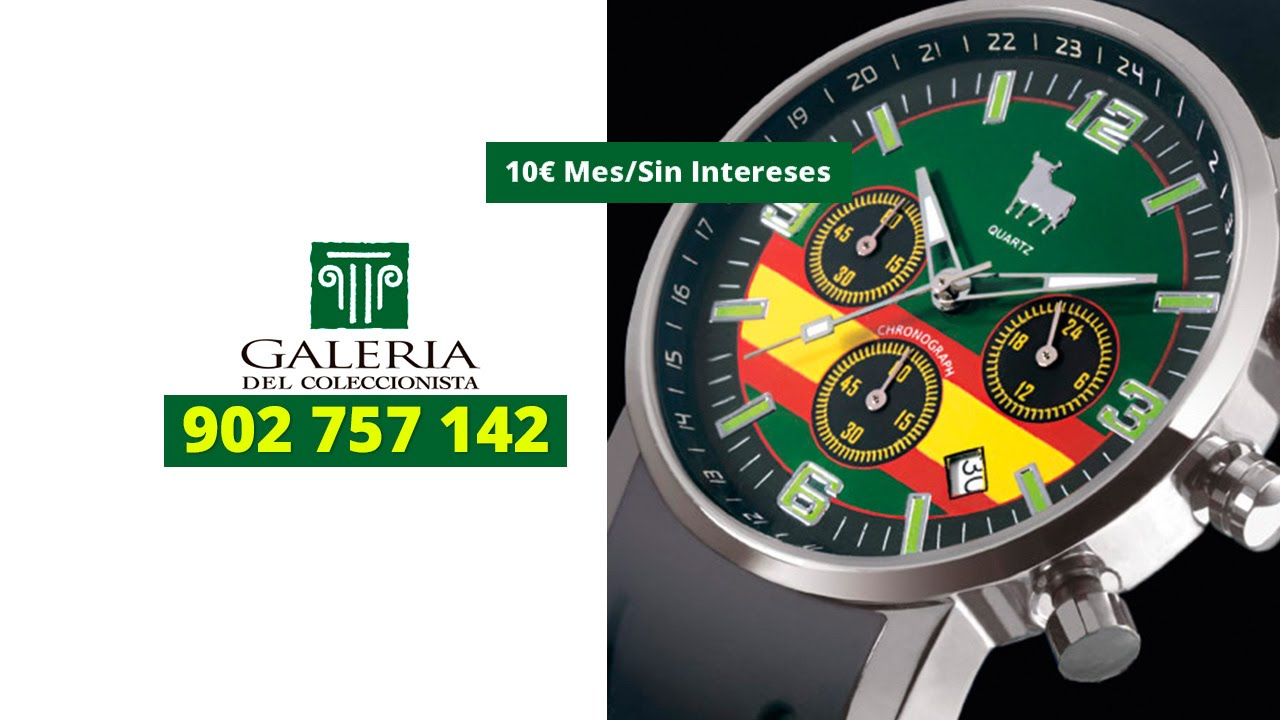 Reloj ra ces de toro watch 902757142 youtube for Galeria del coleccionista vajillas