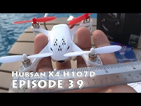 Hubsan X4 H107D review & unboxing the smallest FPV ready-to-fly quadcopter with DVR