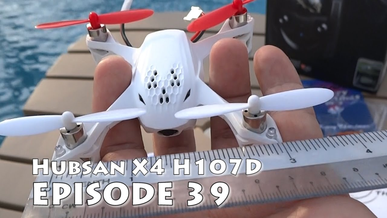 Hubsan X4 H107D Review Amp Unboxing The Smallest FPV Ready