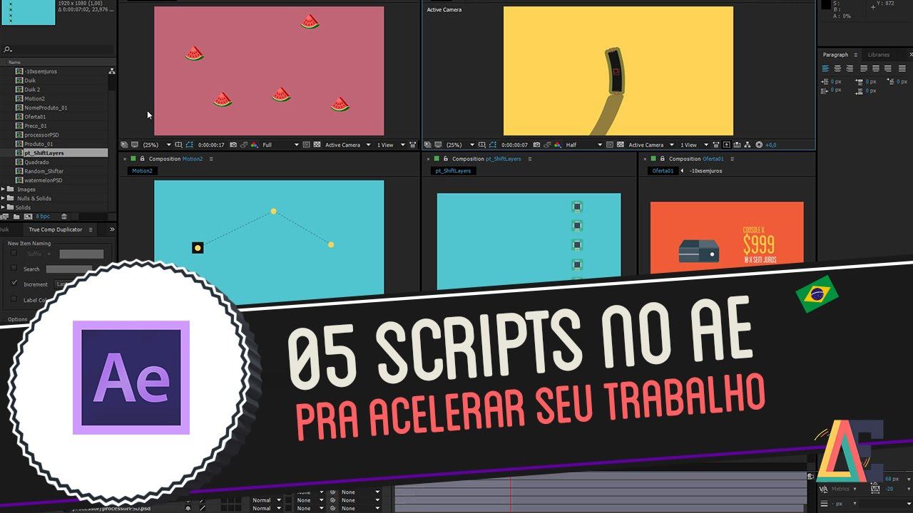 Writing after effects scripts