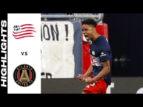 New England Atlanta United Goals And Highlights