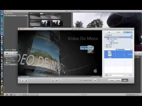 Imovie A Idvd