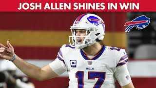 Bills legends steve tasker and eric wood break down the game tape from 34-24 win over 49ers monday.chopping is presented by st. bonaventur...
