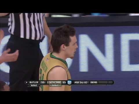 Butler vs. Notre Dame: Pat Connaughton block