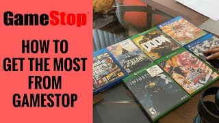 How To Trade Games At Gamestop/get More Money