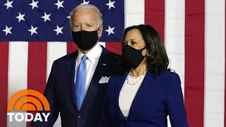 Joe Biden Officially Introduces VP Pick Kamala Harris As Trump Attacks Her | TODAY
