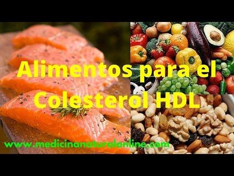 ALIMENTOS PARA EL COLESTEROL HDL – AYUDA A BAJAR EL COLESTEROL LDL