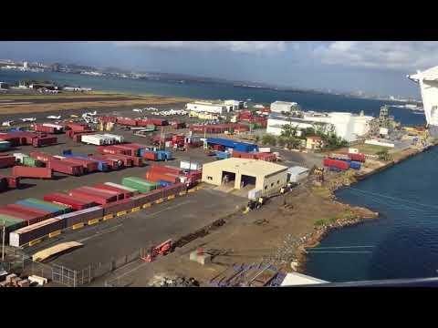 San Juan Puerto Rico from Royal Caribbean's Adventure of the Seas April 2018