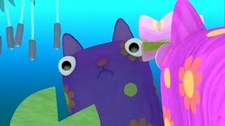 Поющие рыбы - Зебра в клеточку - Песенки для детей