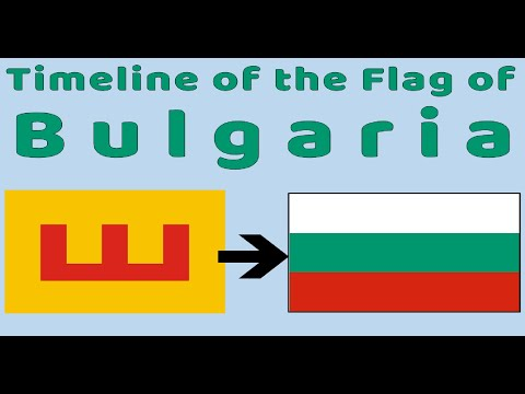 Flag Of Bulgaria : Historical Evolution (with The National Anthem Of Bulgaria)