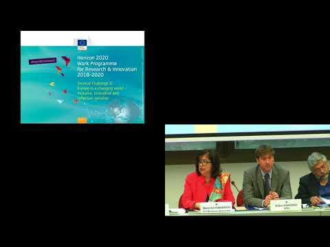 European Commission Societal Challenge 6 Information Day 2017