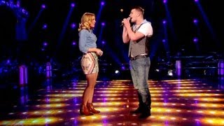 The Voice UK 2013 | Mike Ward Vs Emma Jade Garbutt: Battle Performance - Battle Rounds 3 - BBC One