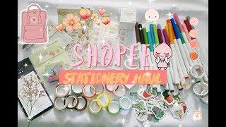 shopee stationery haul�//Indonesia 🌿