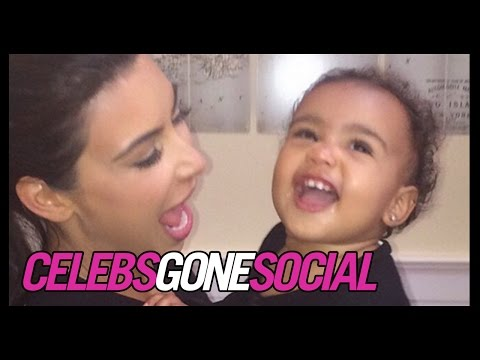 Kim Kardashian and North West Share Cute Instagram Pictures