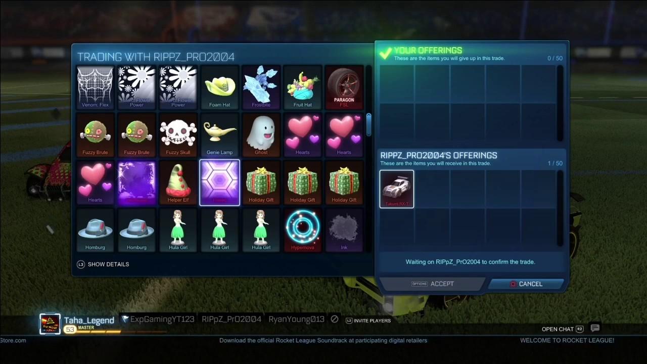rocket league free items