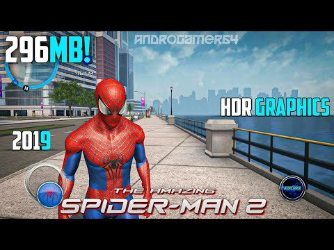 [296 MB] The Amazing Spider Man 2 - 1.2.8 Highly Compressed (APK+OBB) For Android 2019 Offline