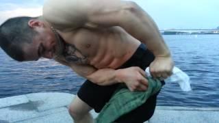 Узел сотского из гвоздей 300мм в живописном Невограде.