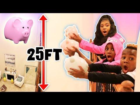 Last to Drop Piggy Bank Wins $1,000