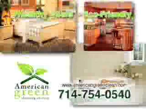 Orange County Green House Cleaning - Maid Service