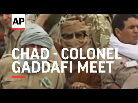 Chad - Colonel Gaddafi meet