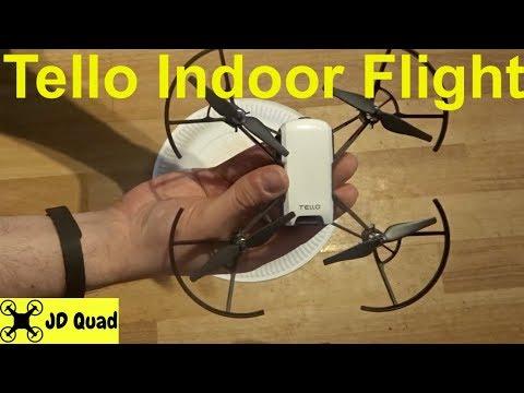 Ryze Tello Firmware Upgrade & Indoor Flight Test Video