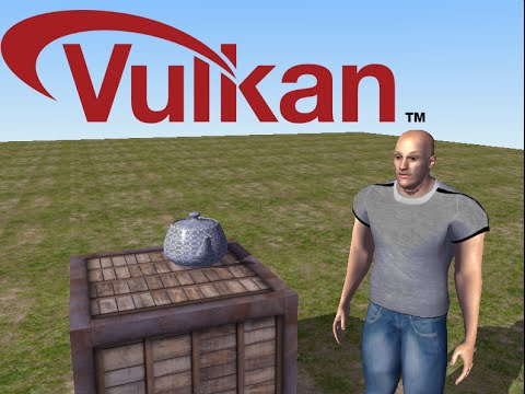 VULKAN API Game Engine - C++ - RC-Engine