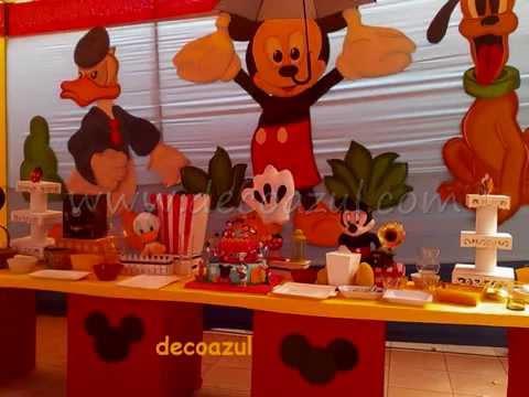 Decoracion de fiestas infantiles mickey decoracion de - Decoracion para fiestas infantiles mickey mouse ...