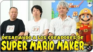 DESAFIANDO A LOS CREADORES!! | Especial | Super Mario Maker