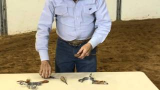 Dennis Moreland Tack: How to Attach Spur Straps with Button Covers