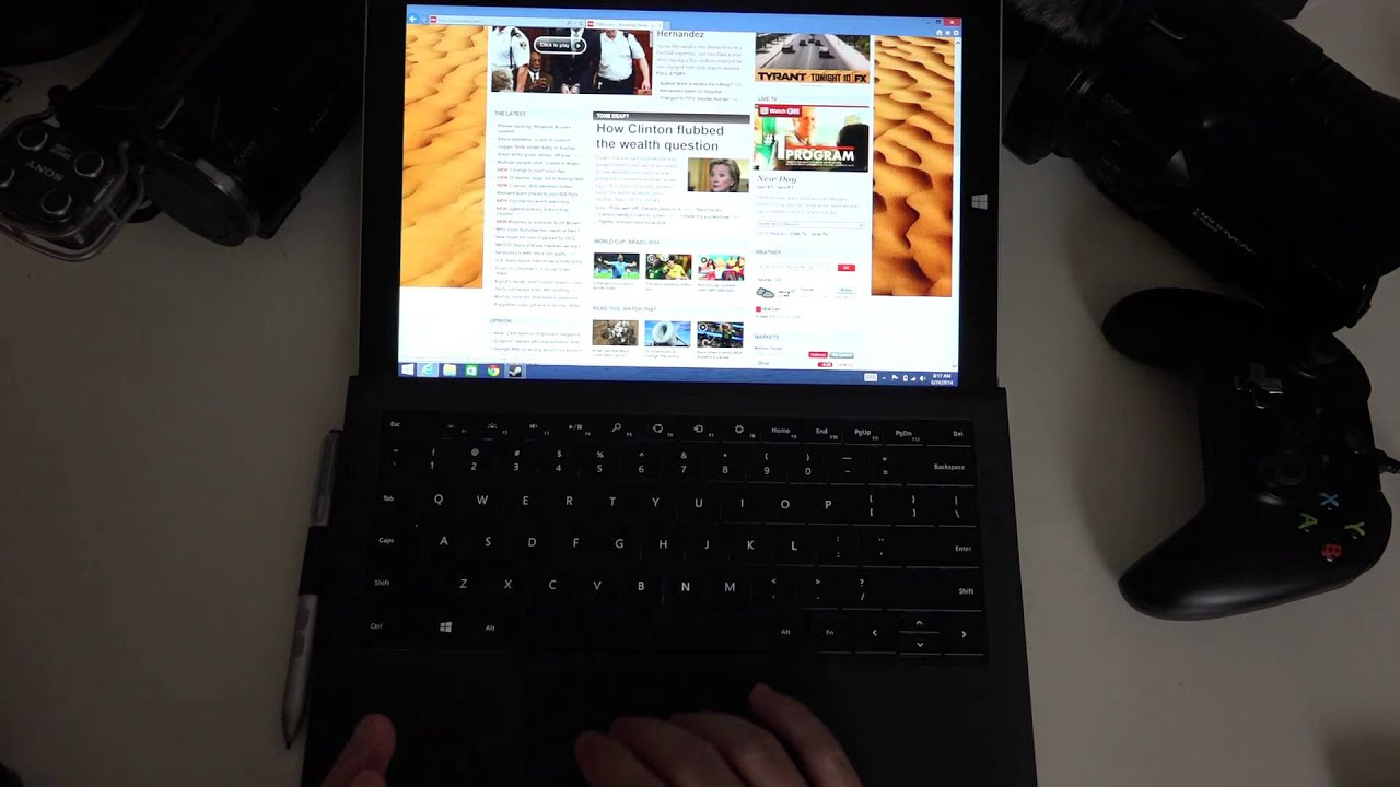 Microsoft Surface Pro 3 Type Cover Pro Review