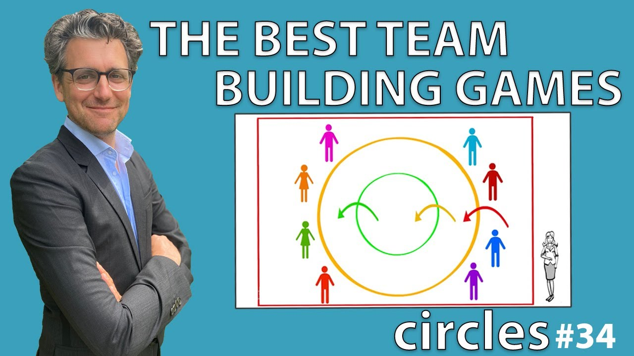 The best team building games circles 34 youtube - Team building swimming pool games ...