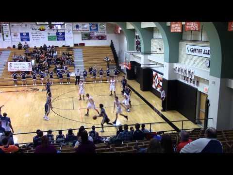 Josh James Irwin Charter High School  vs Lamar High School Junior year 2015
