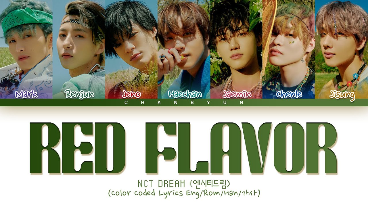 How would NCT DREAM sing Red Flavor Red Velvet (Male ver) ?
